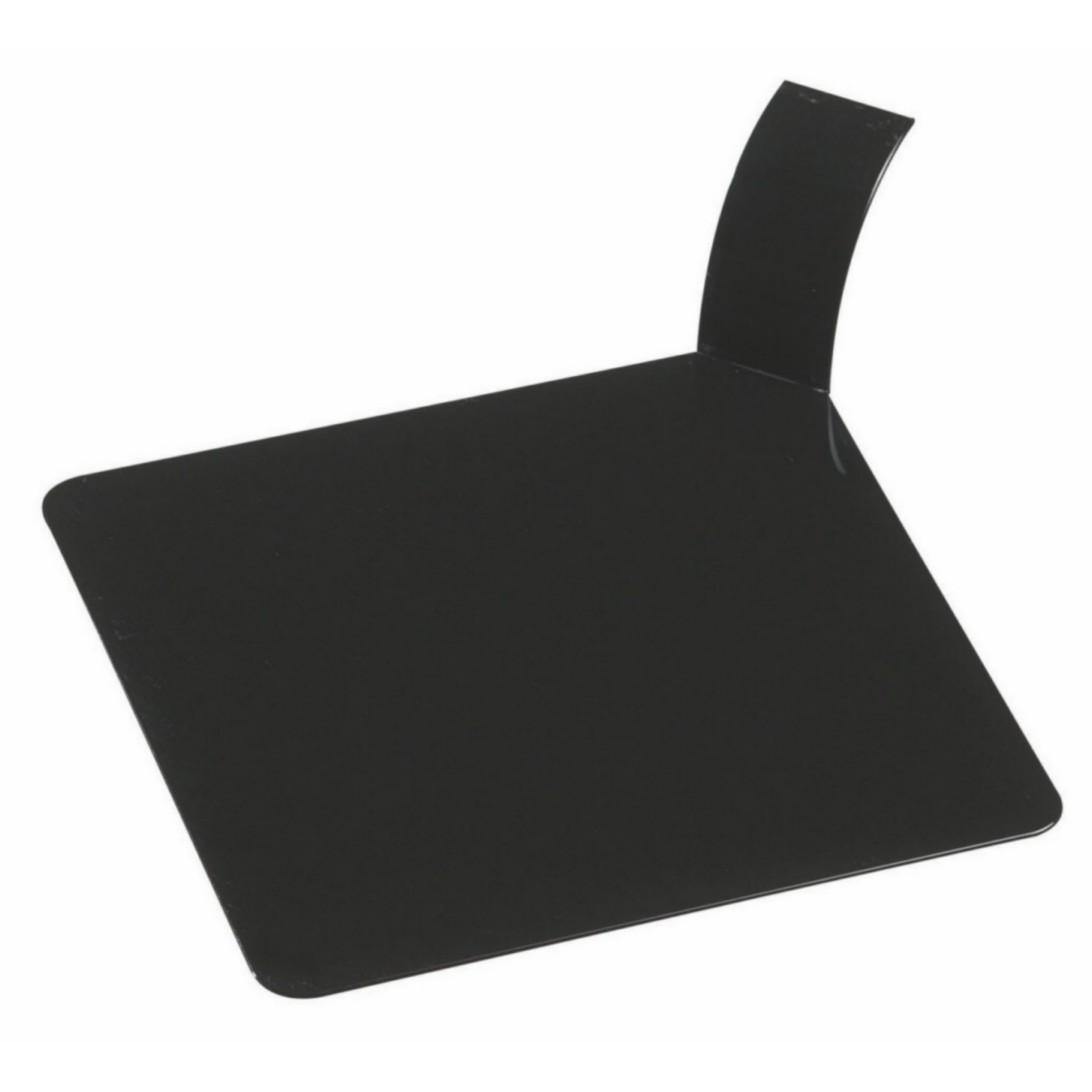 Tácek čtverec černý, balení 100ks