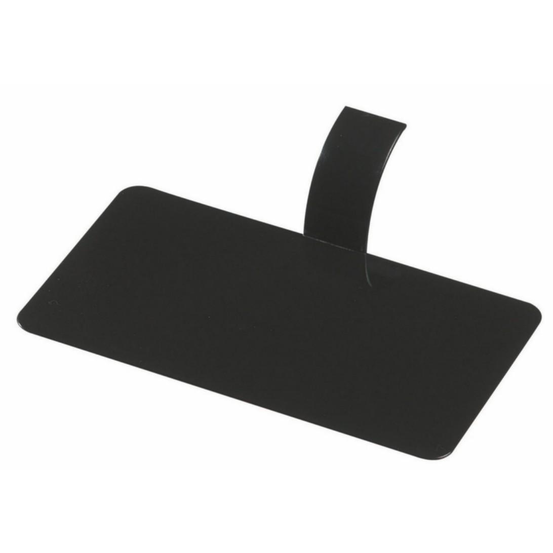 Tácek obdélník černý, balení 100ks
