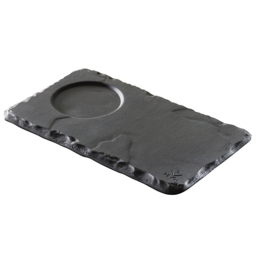 Deska Basalt s prolisem 14x8cm