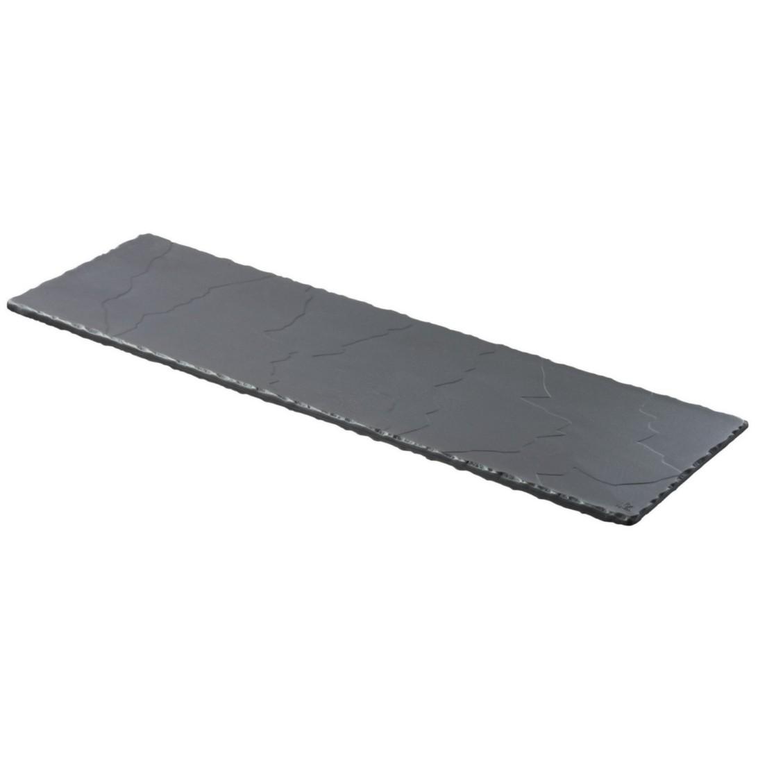 Basalt talíř obdélný 54 x 16,5 cm GN 2/4