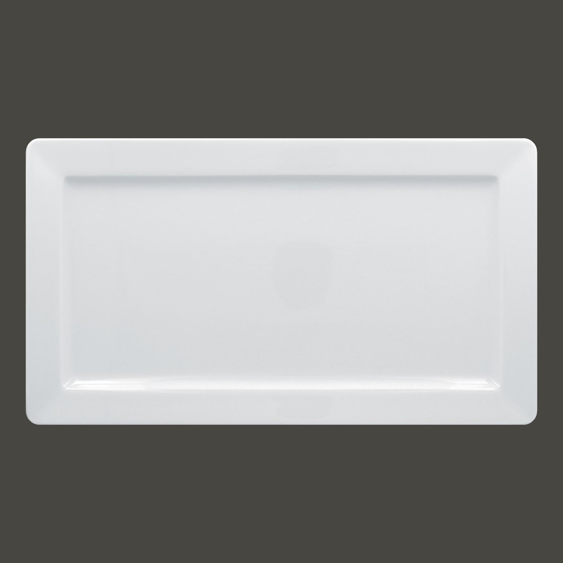 Talíř obdélníkový 38×21 cm