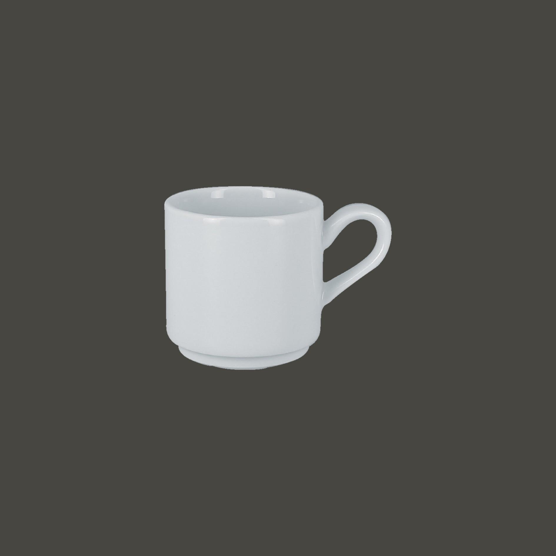 Šálek na espresso stohovatelný 9 cl
