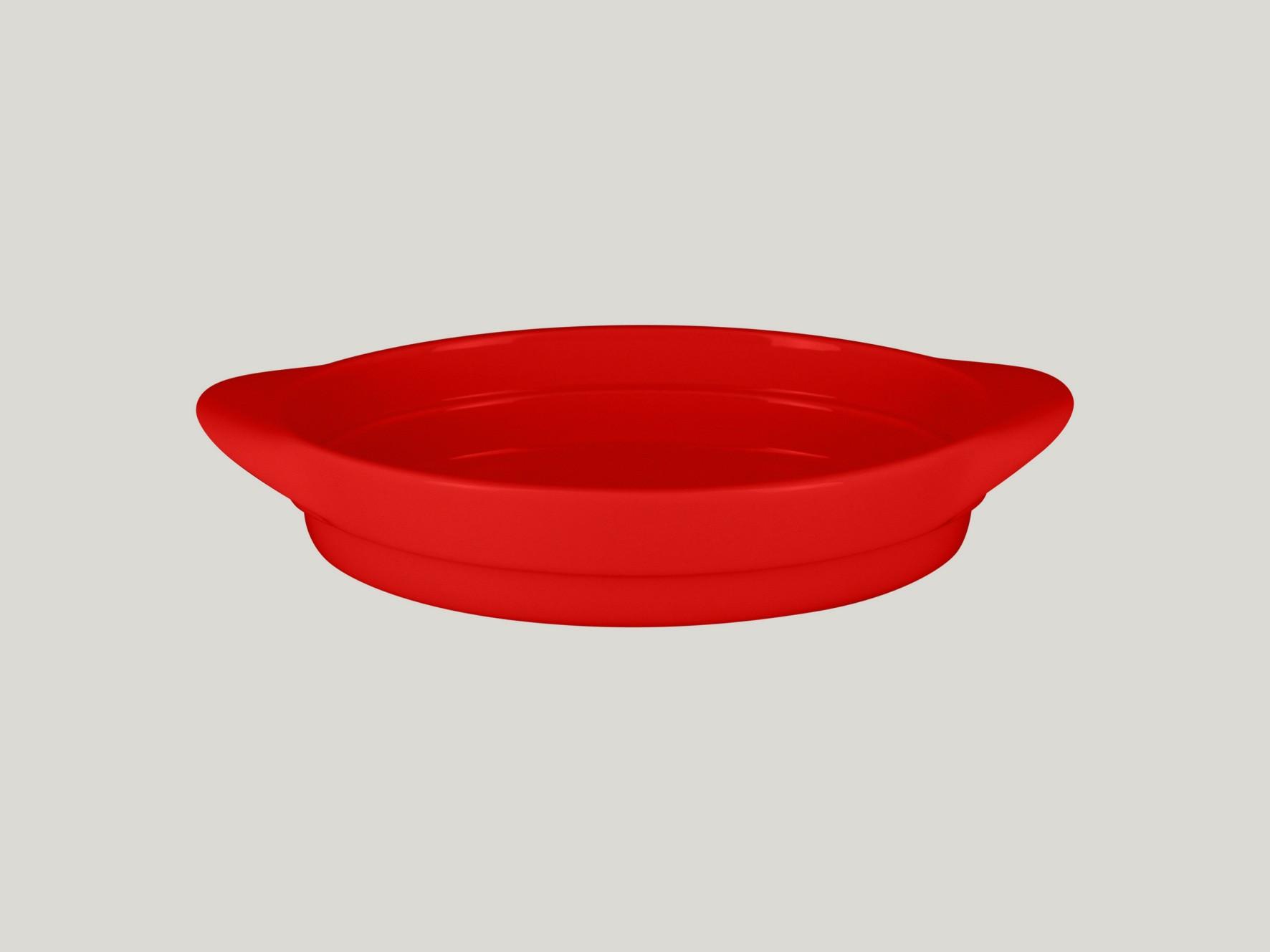Chefs fusion Oválná miska červená