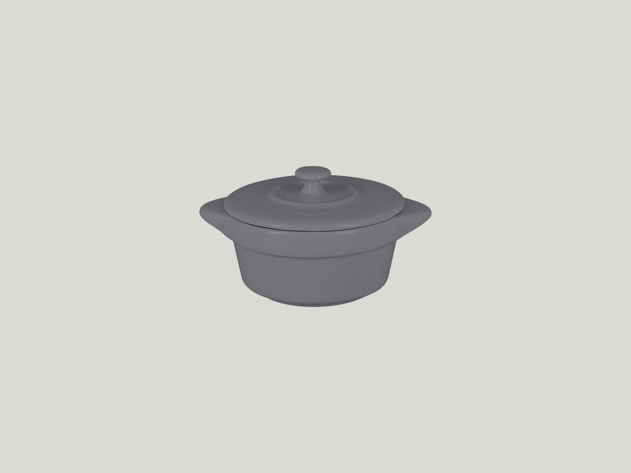 Chefs fusion Mini hrnec s pokličkou šedý
