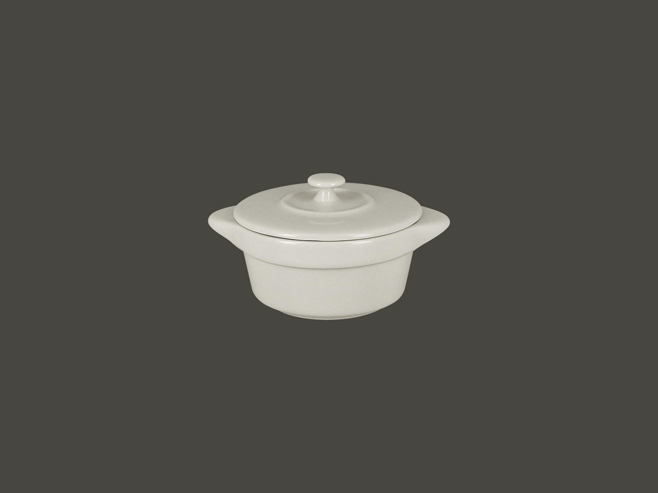 Chefs fusion Mini hrnec s pokličkou bílý