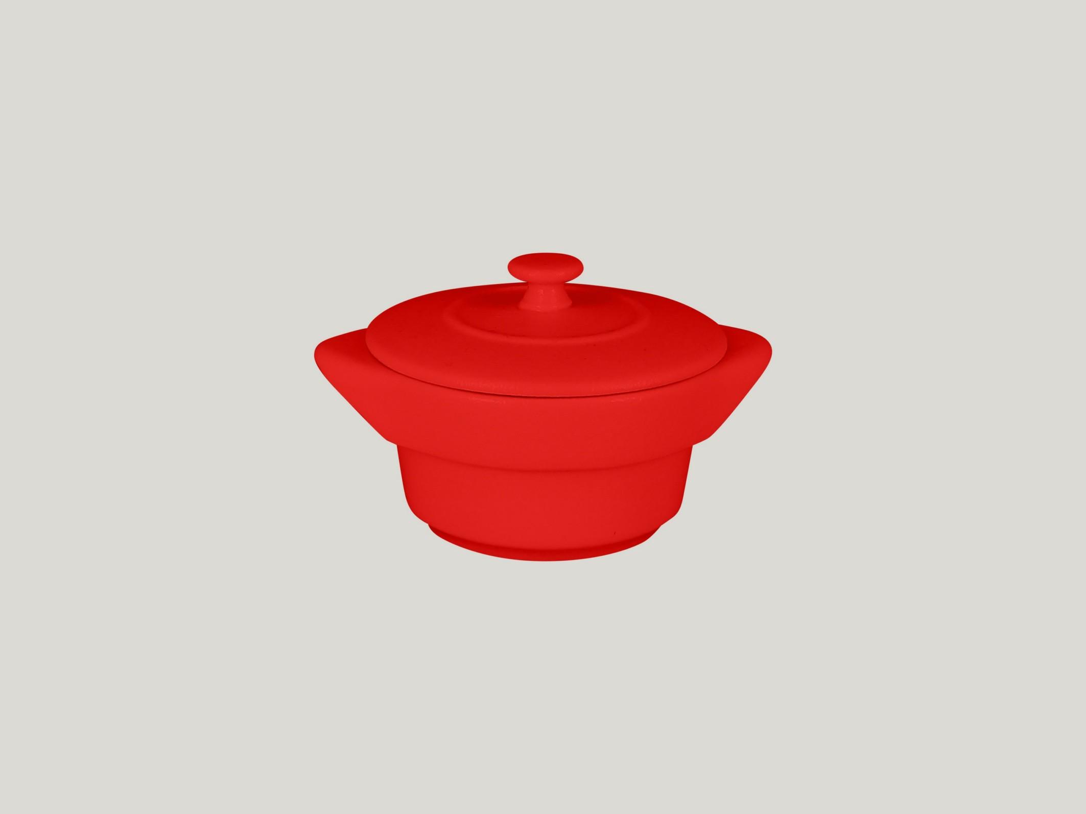 Chefs fusion Mini hrnec s pokličkou červený