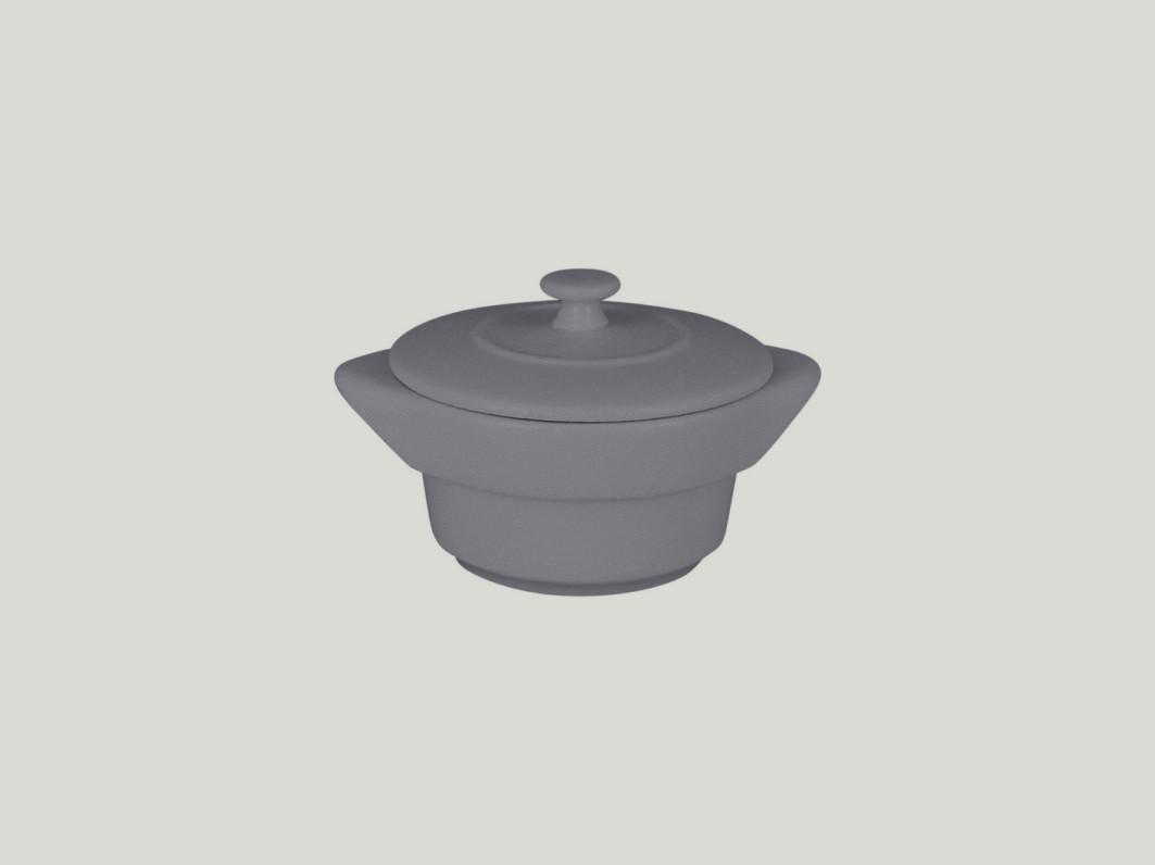 RAK Kulatý cocotte & lid - stone Chefs fusion