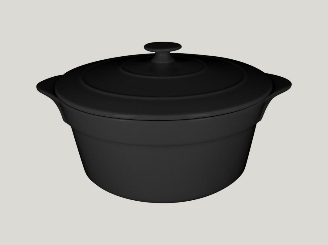Chefs fusion Mini hrnec s pokličkou černý