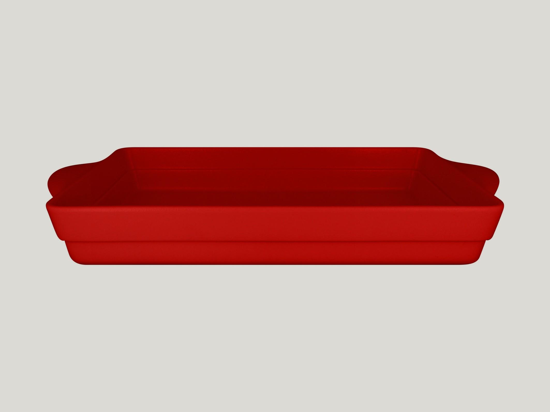 Chefś Fusion mísa na zapékání červená
