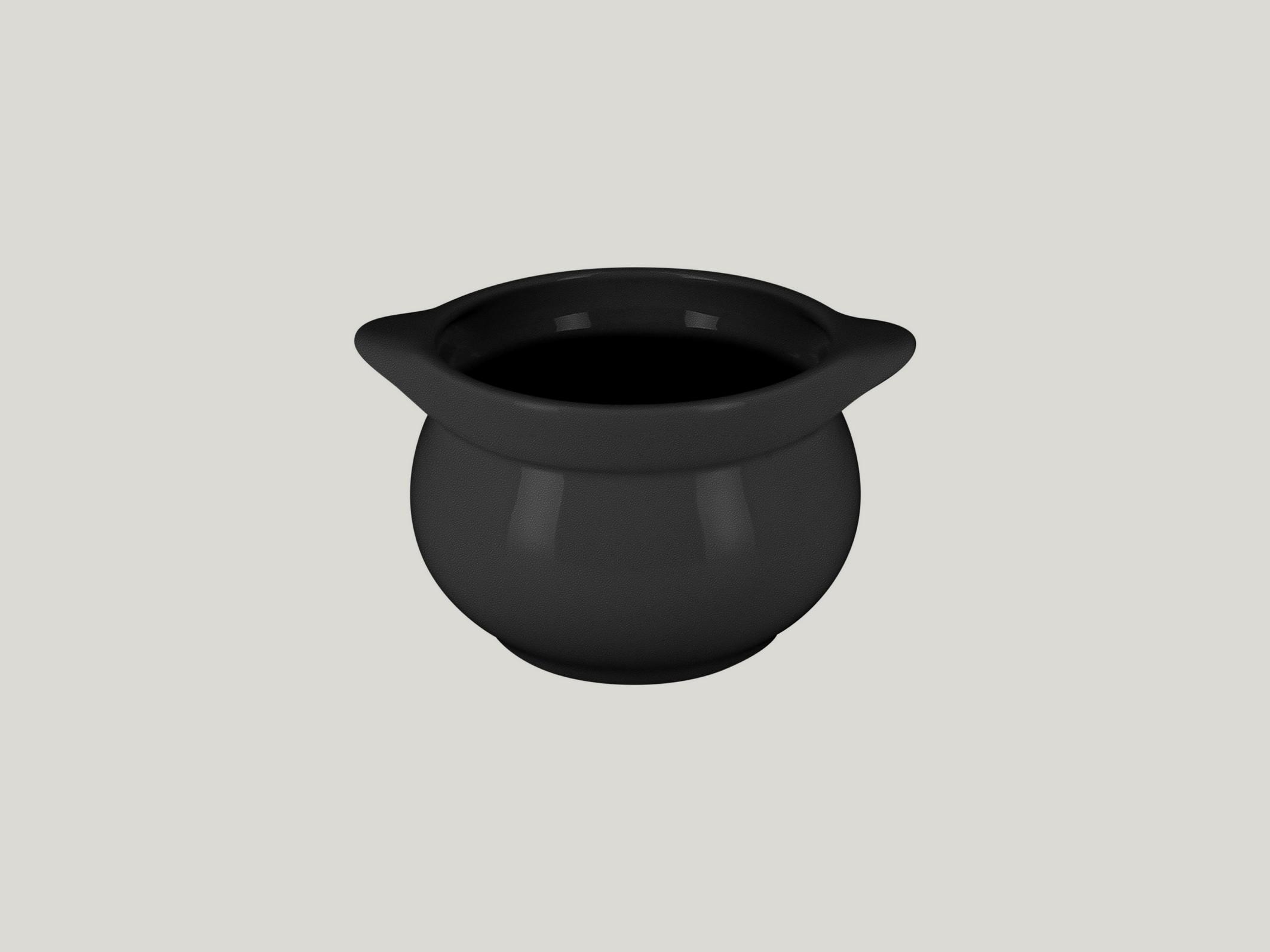 Chefś Fusion mísa na polévku černá pr.10,5cm