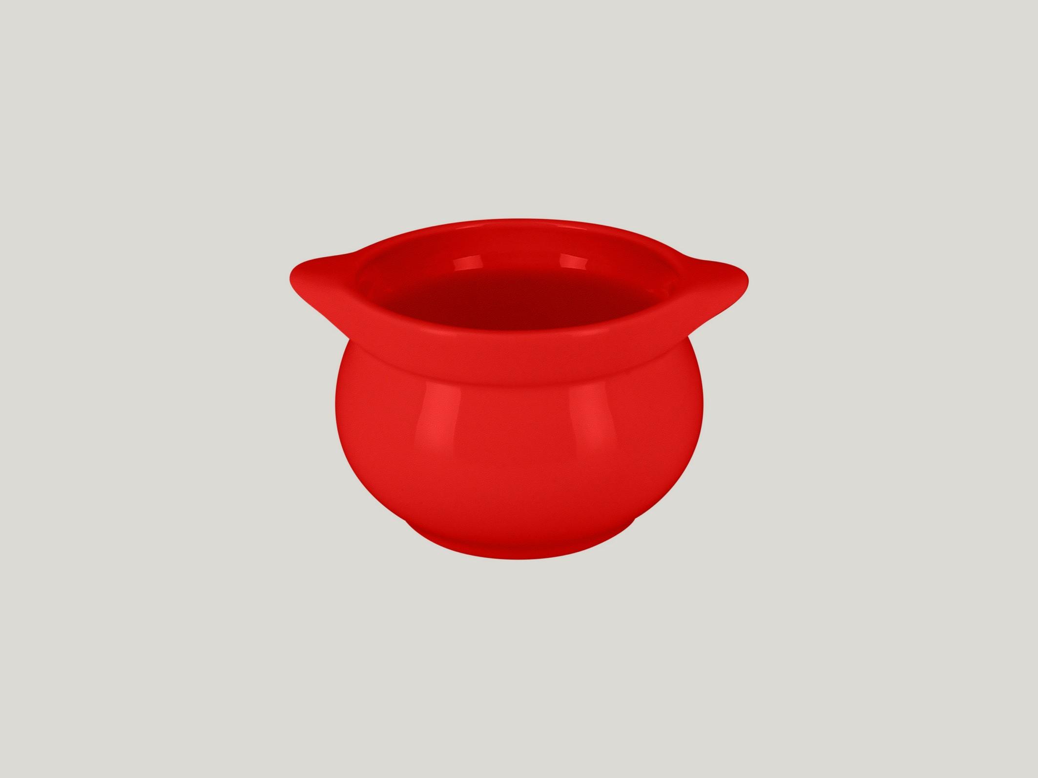 Chefś Fusion mísa na polévku červená pr.10,5cm