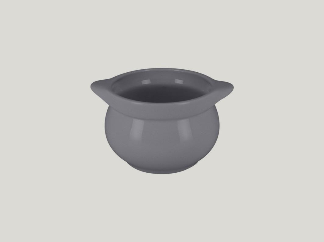 Chefś Fusion mísa na polévku šedá pr.10,5cm