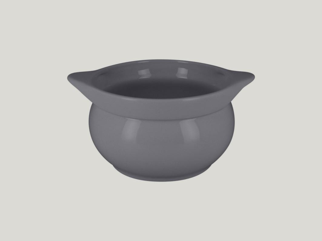 Chefś Fusion mísa na polévku šedá pr.15cm