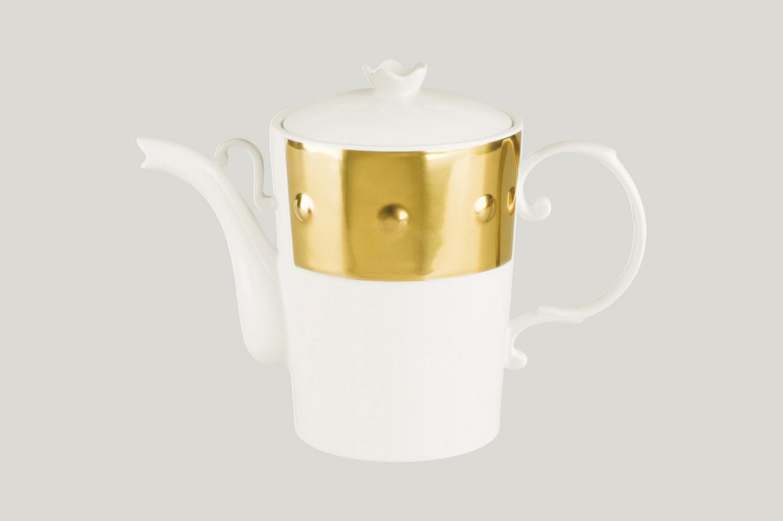 Konvice na kávu s víčkem - Princess Golden Golden