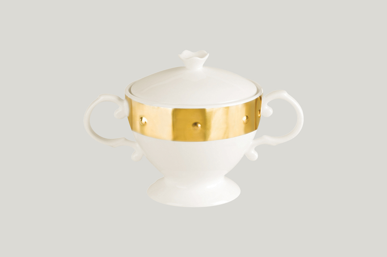 Miska na cukr s víčkem - Princess  Golden Golden