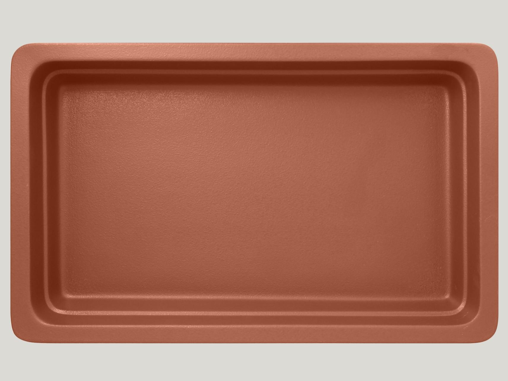 Gastronádoba GN 1/1 065 mm - hnědá