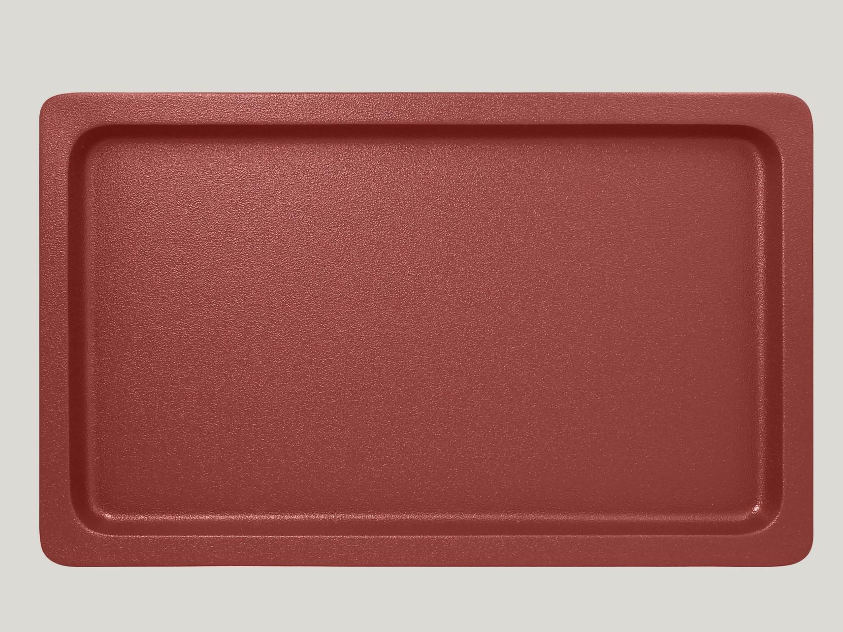 Gastronádoba GN 1/1 020 mm - tmavě červená