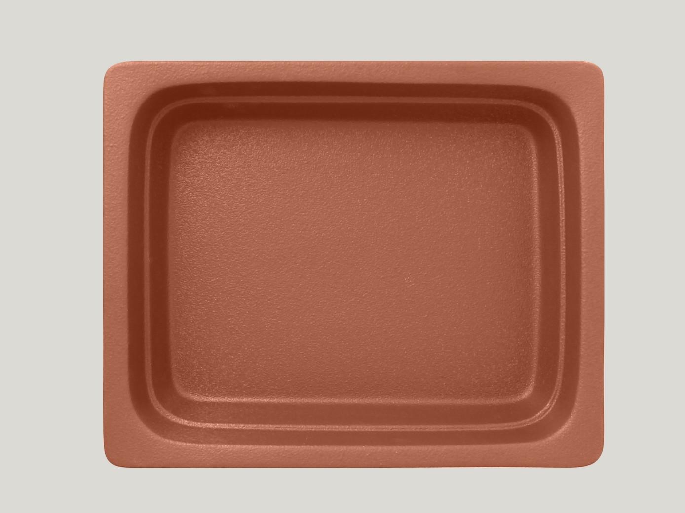 Gastronádoba GN 1/2 065 mm - hnědá