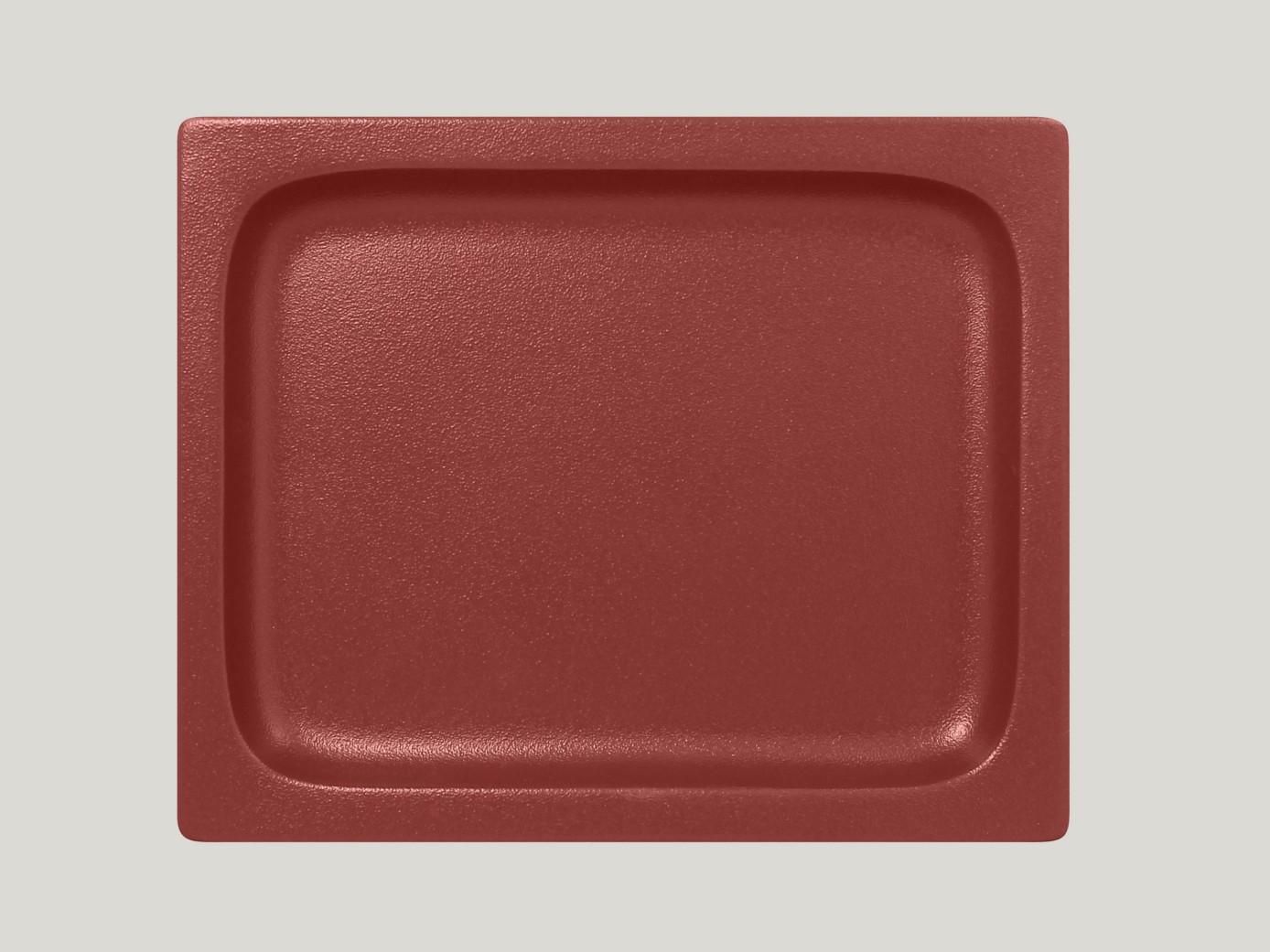 Gastronorm Pánvička 1/2F - tmavě červená Neofusion