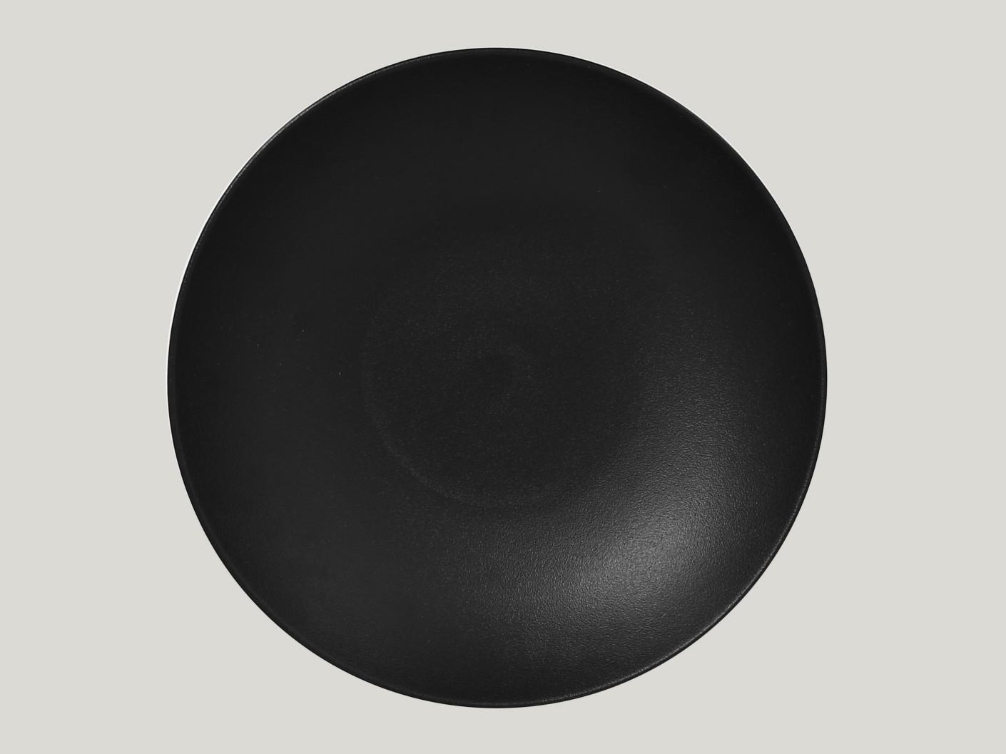 hluboký coupe talíř - černá Neofusion