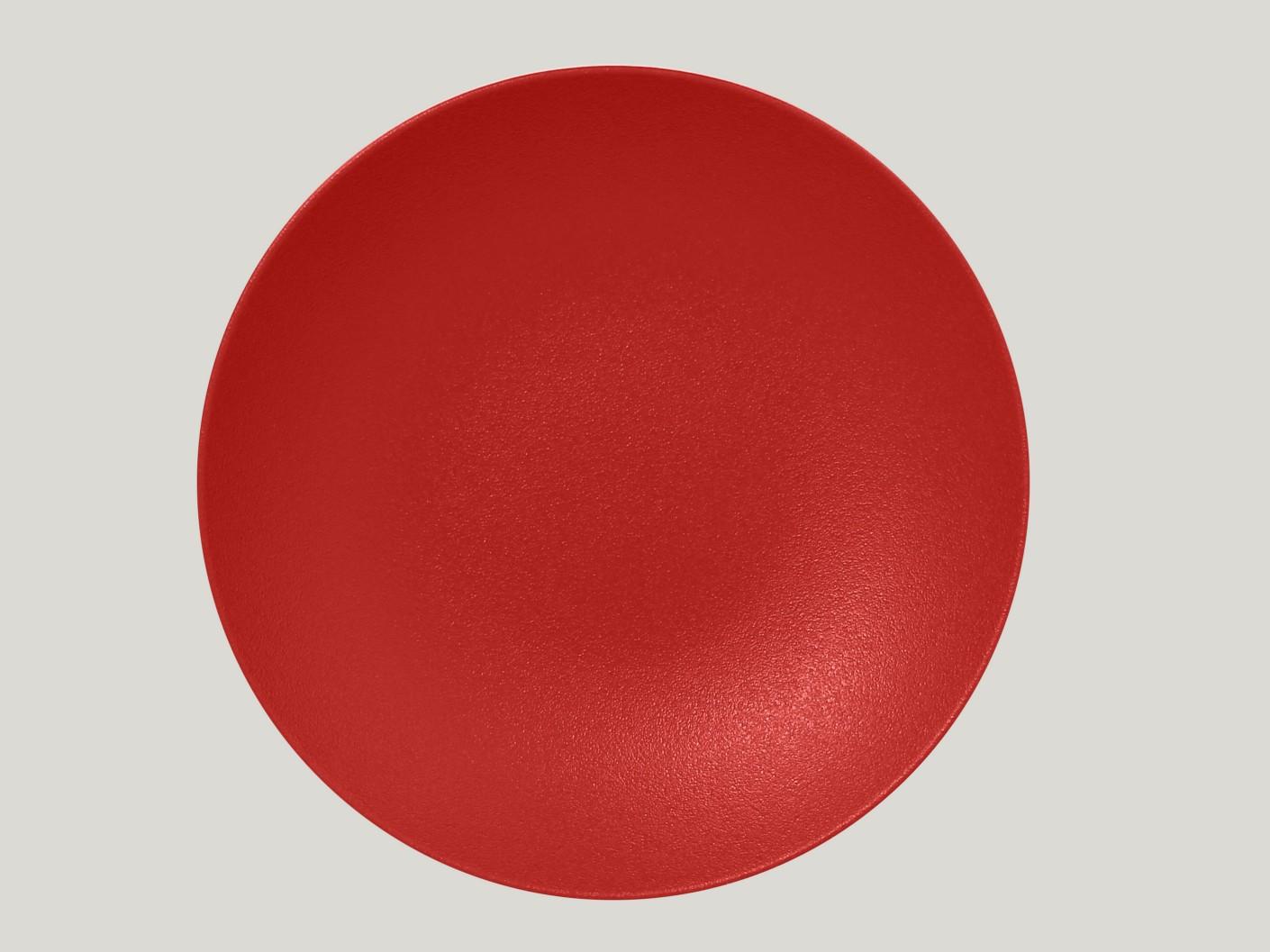 hluboký coupe talíř - světle červená Neofusion