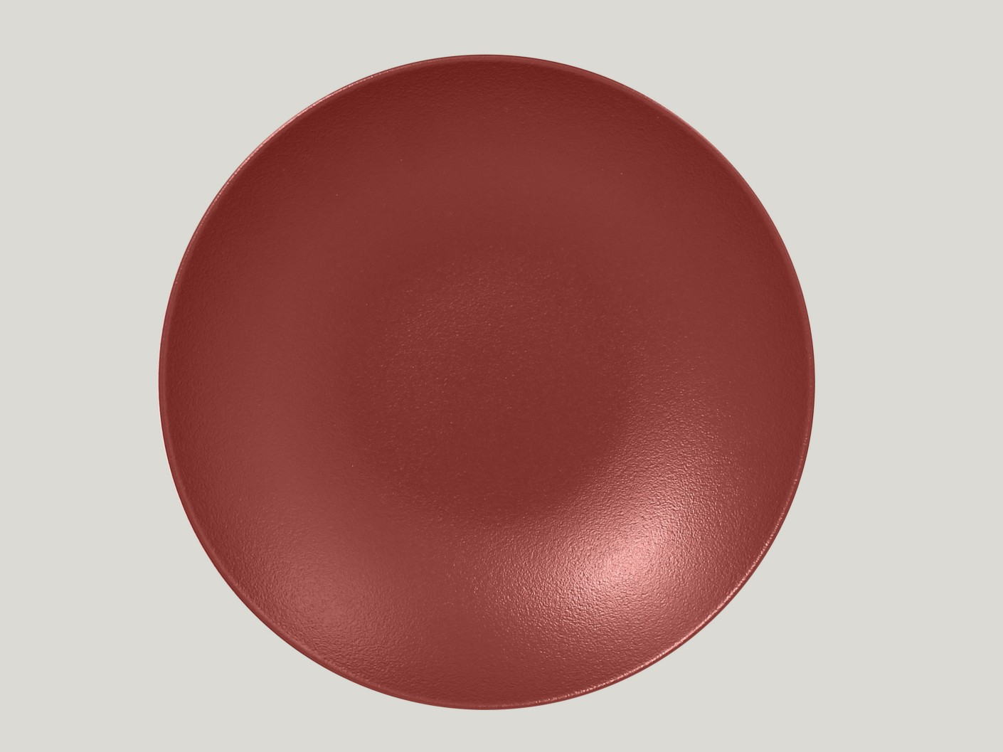 hluboký coupe talíř - tmavě červená Neofusion
