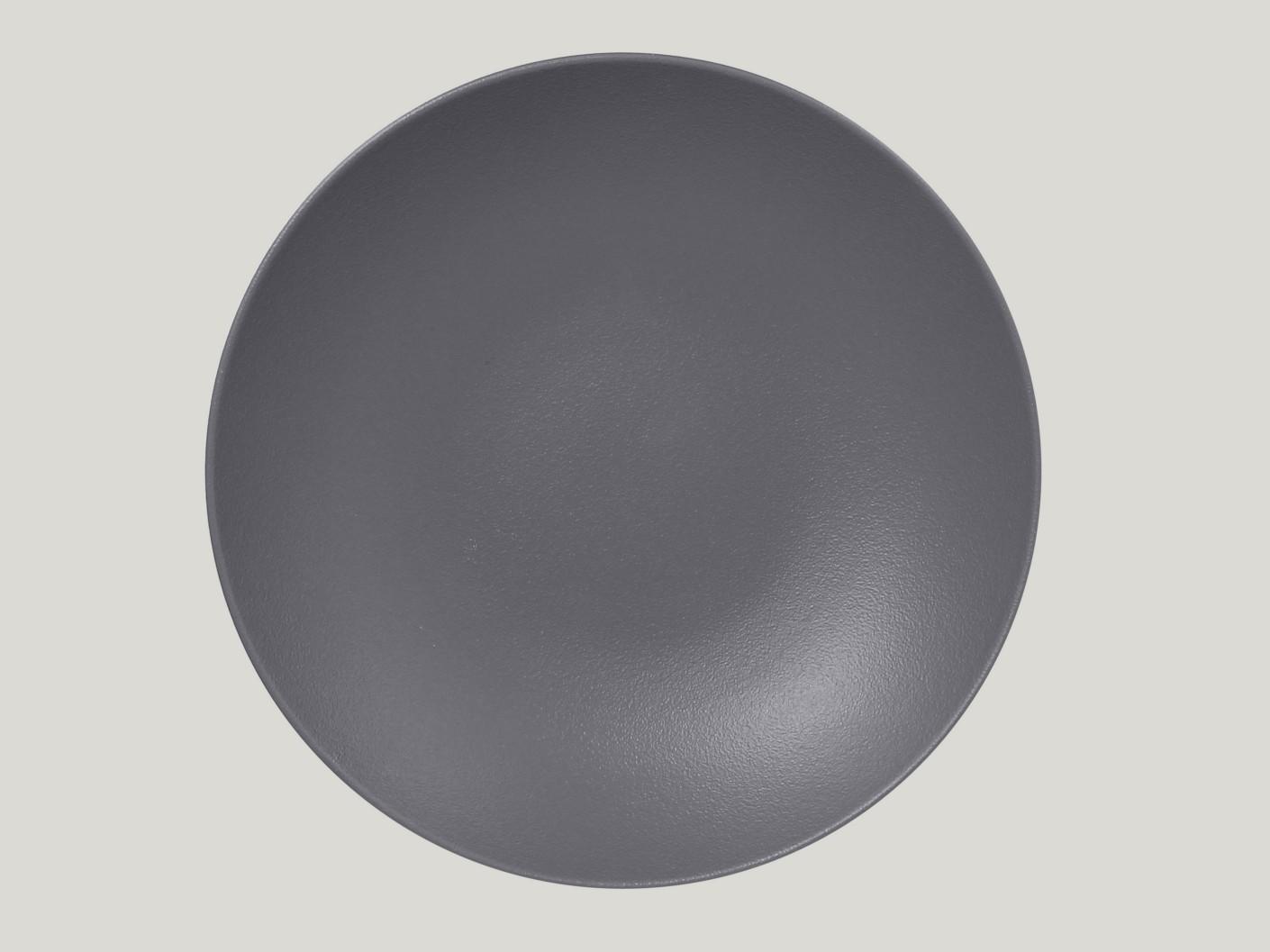 hluboký coupe talíř - šedá Neofusion