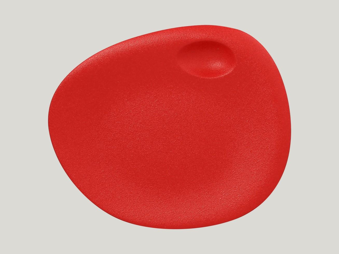Dinner coupe talíř - světle červená Neofusion