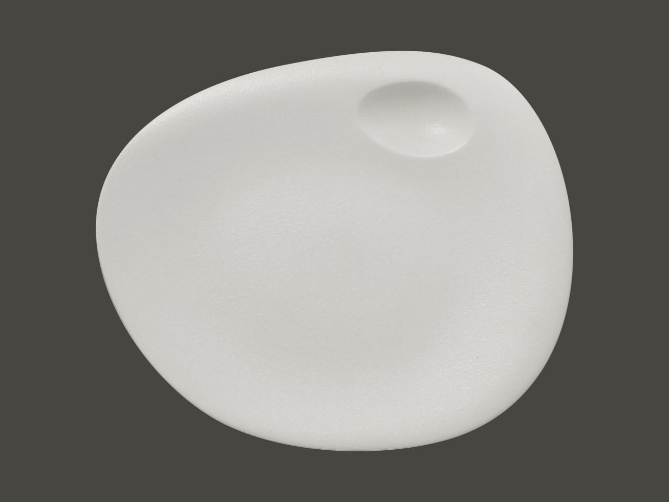 Dinner coupe talíř - bílá Neofusion
