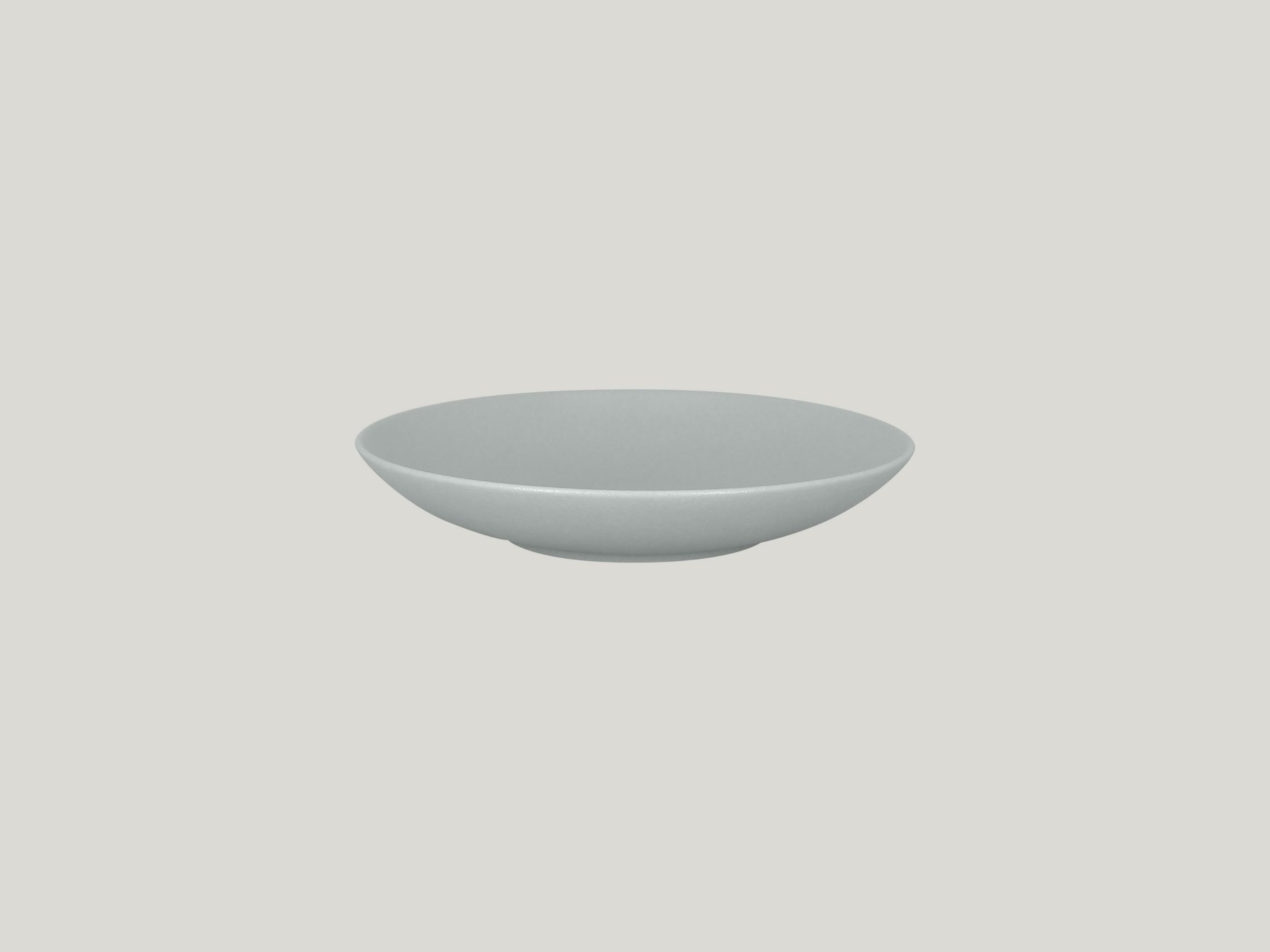 Talíř hluboký coupe 23 cm - šedá