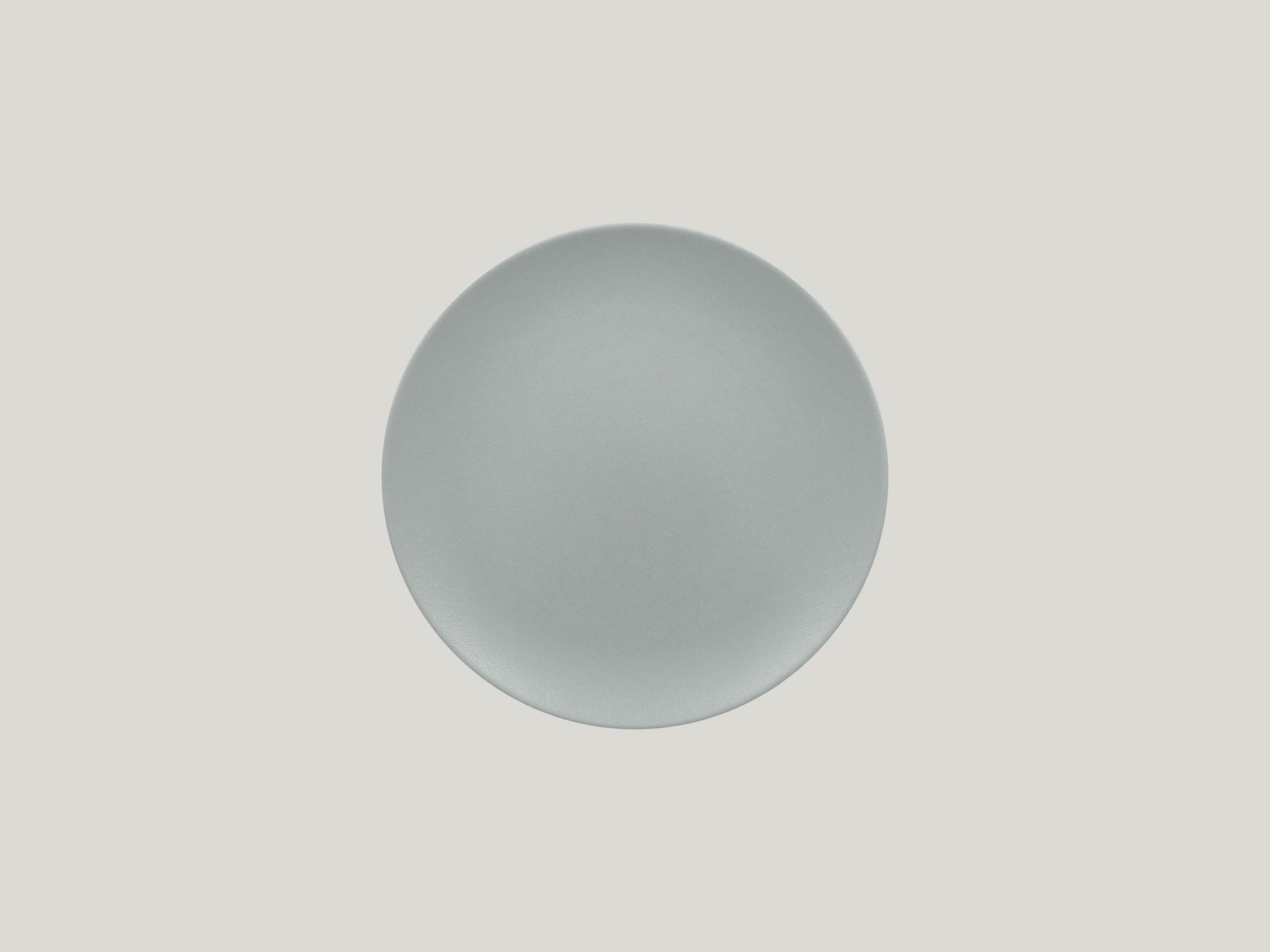Talíř mělký 21 cm - šedá