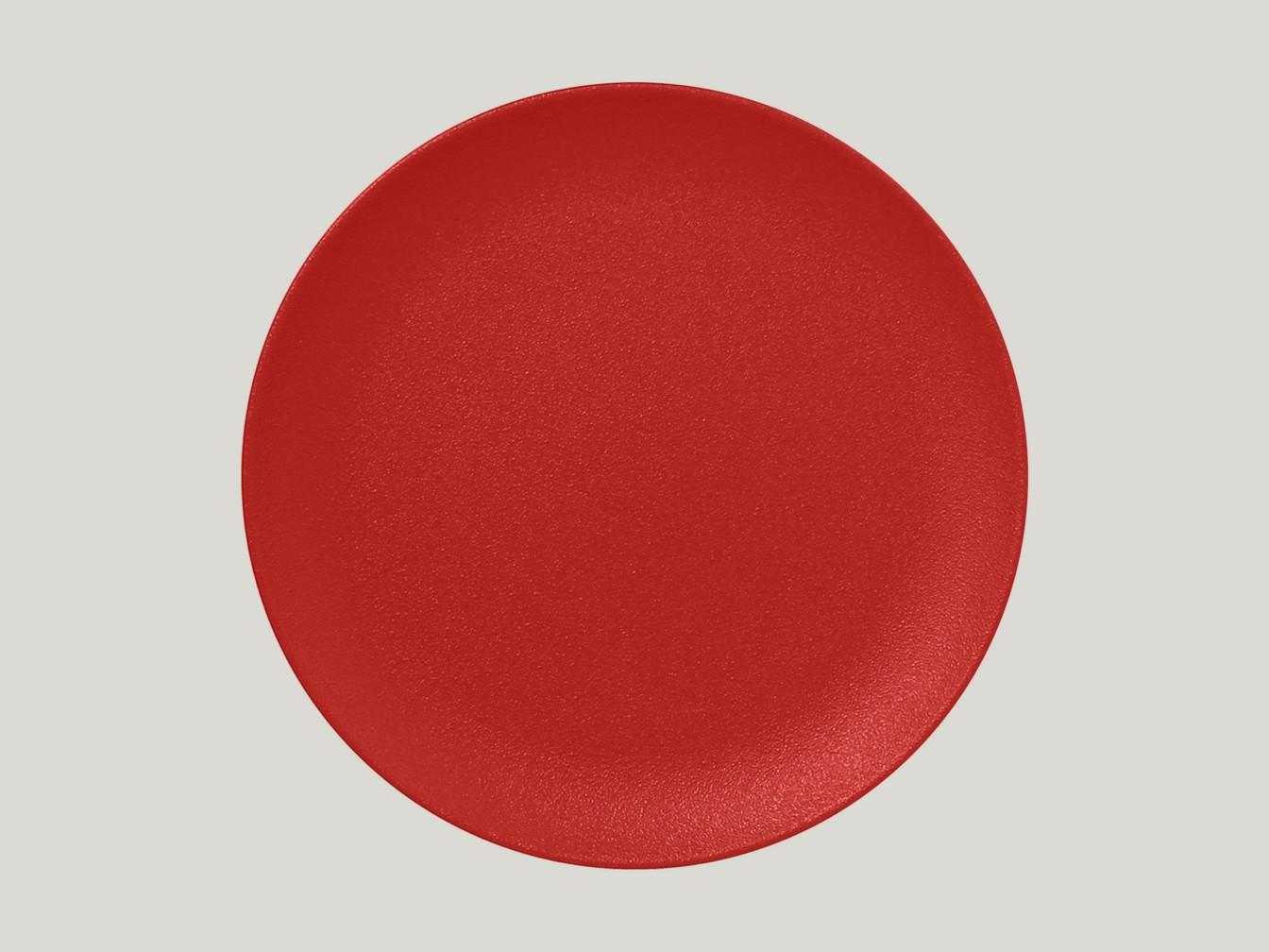 mělký coupe talíř - amber Neofusion