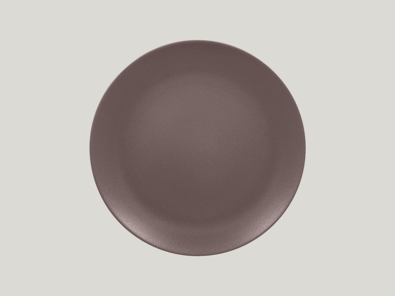 Talíř mělký 29 cm - hnědá