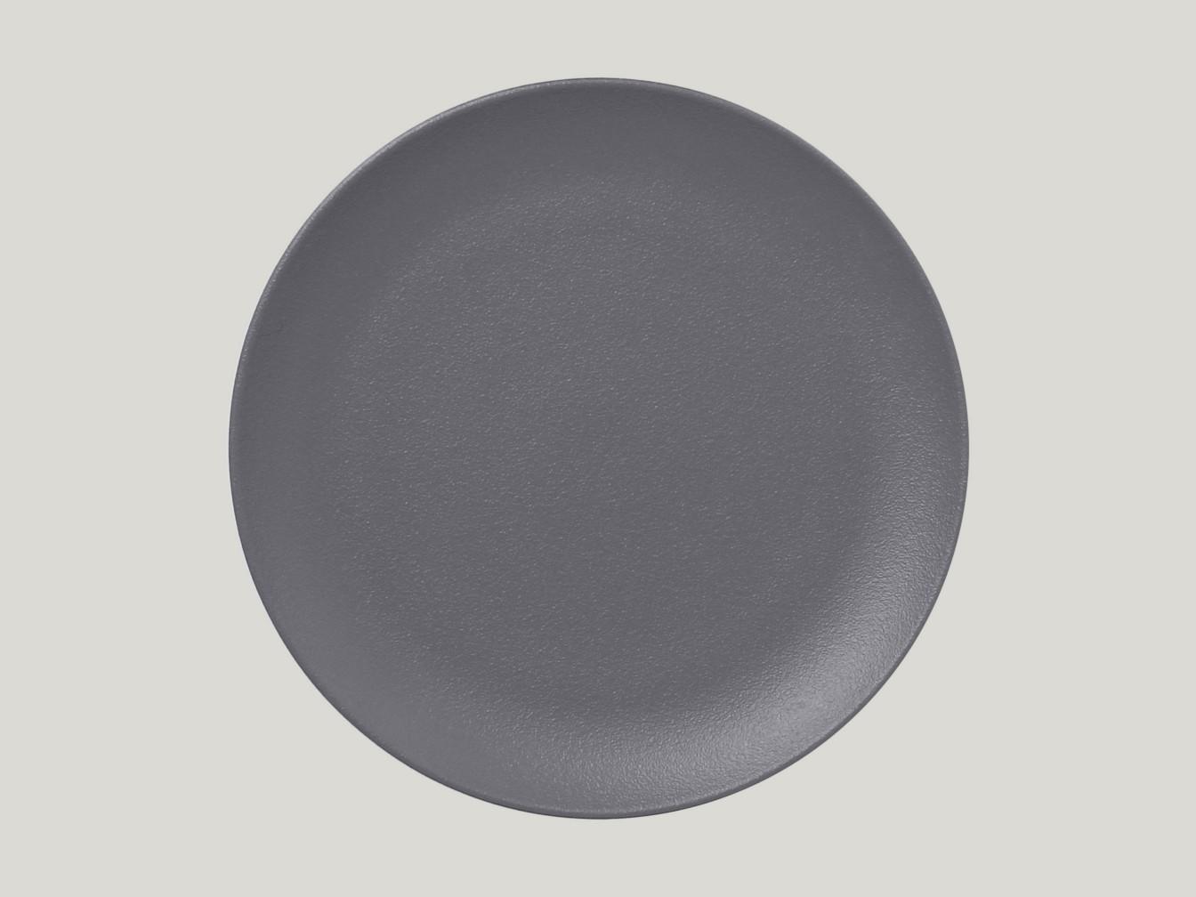mělký coupe talíř - šedá Neofusion