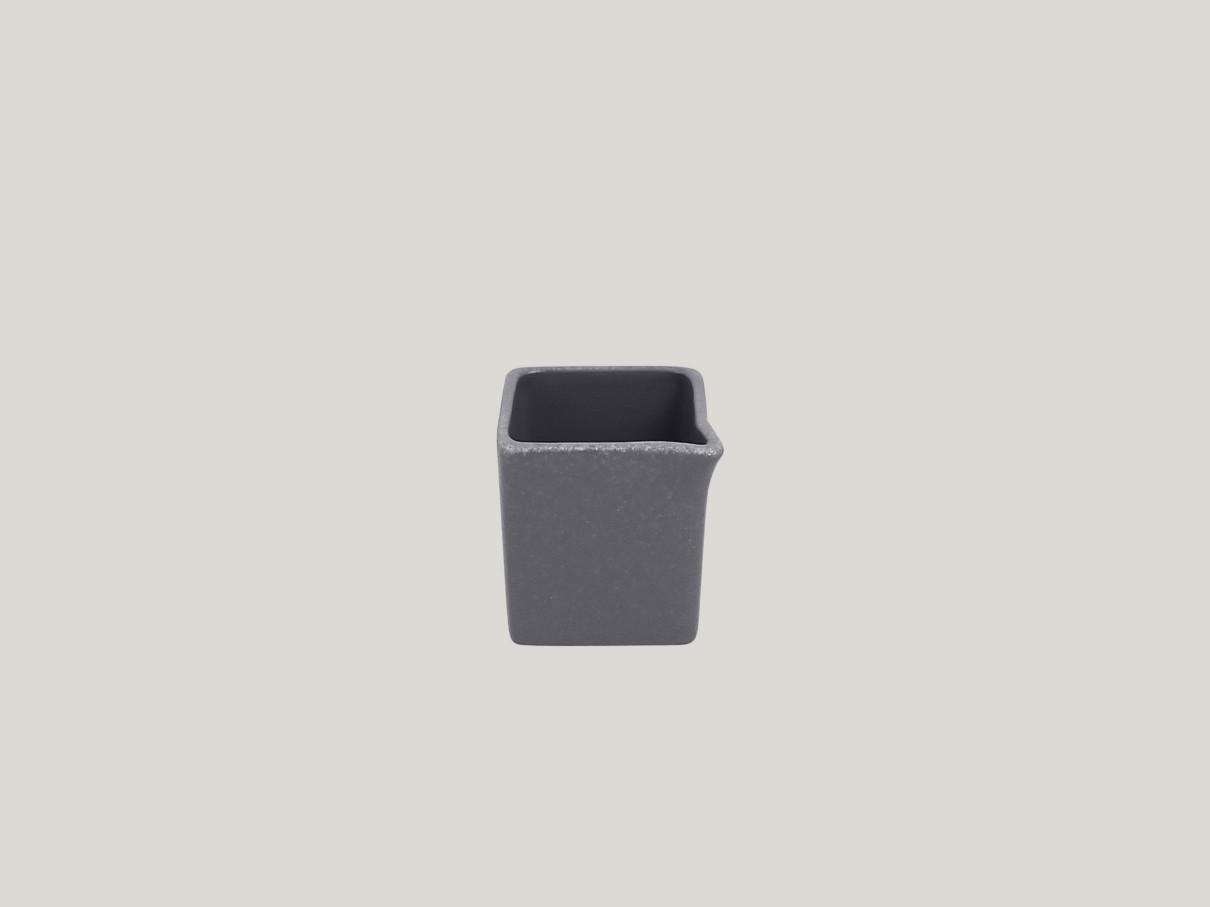 Čtvercový Omáčník/gravy boat - šedá Neofusion