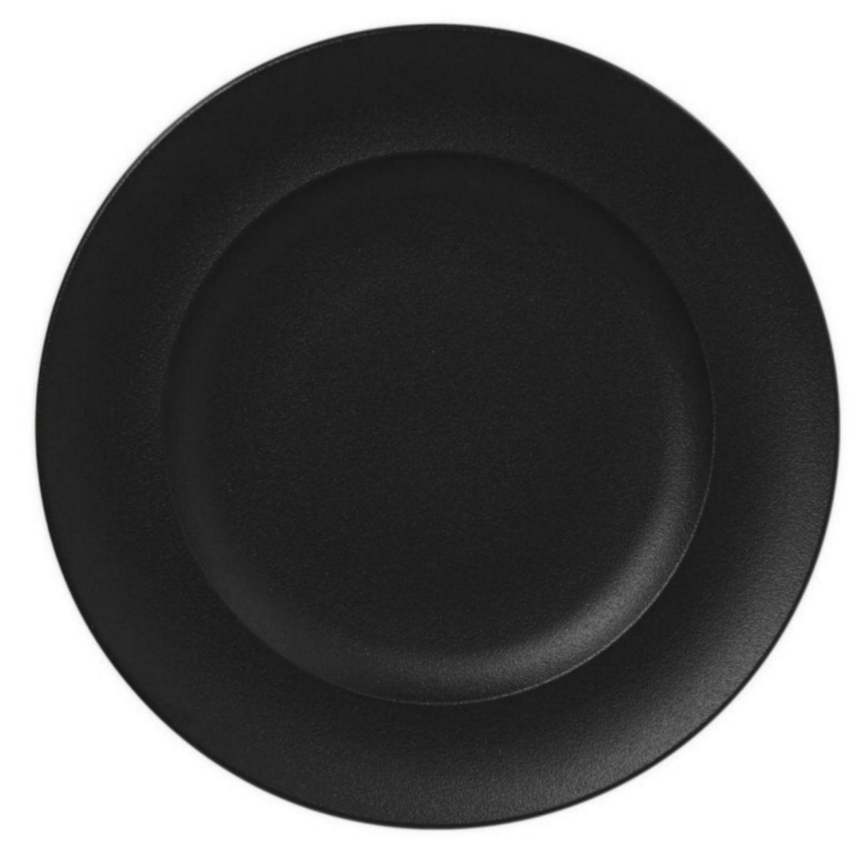 Talíř mělký kulatý 33cm - černá