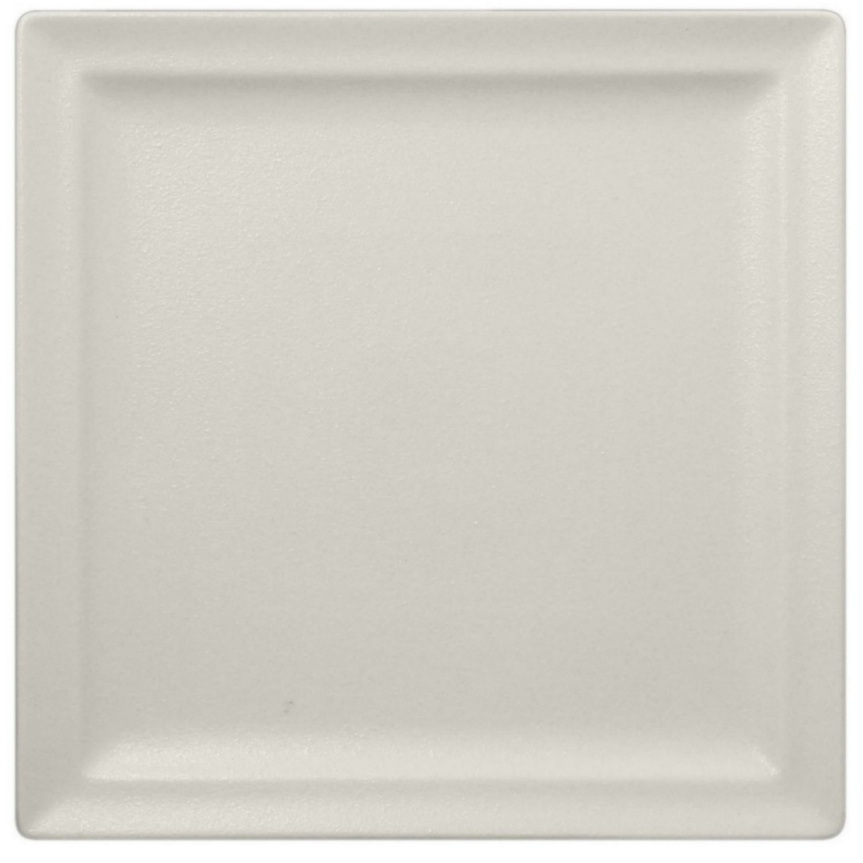 Talíř mělký čtvercový 30cm - bílá