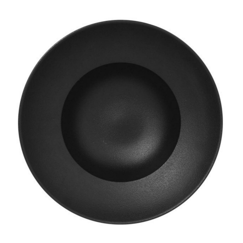 Talíř hluboký 23cm - černá