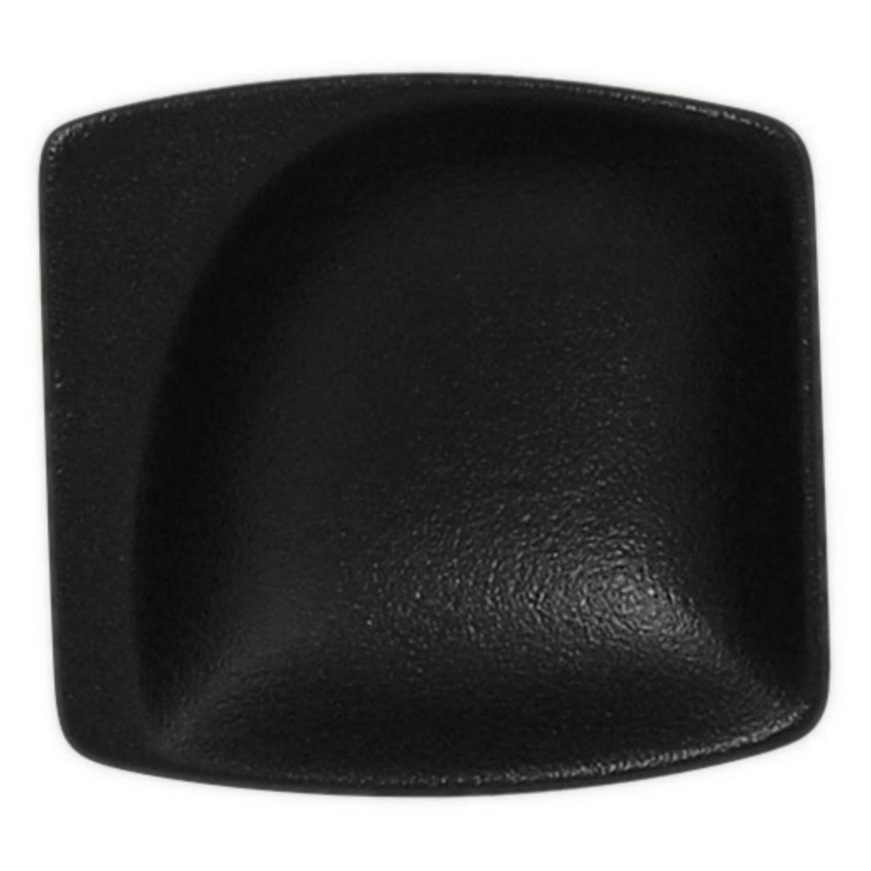 Neofusion talíř malý čtvercový 8 cm - černá