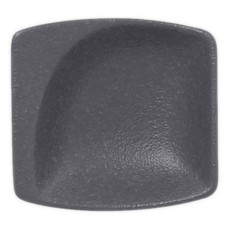 Neofusion talíř malý čtvercový 8 cm - šedá