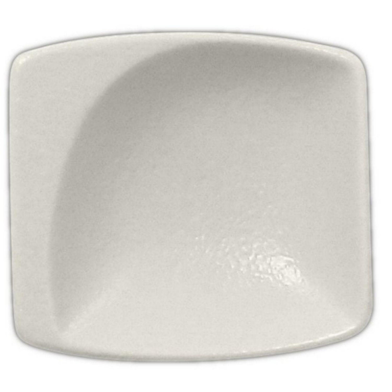 Neofusion talíř malý čtvercový 8 cm - bílá