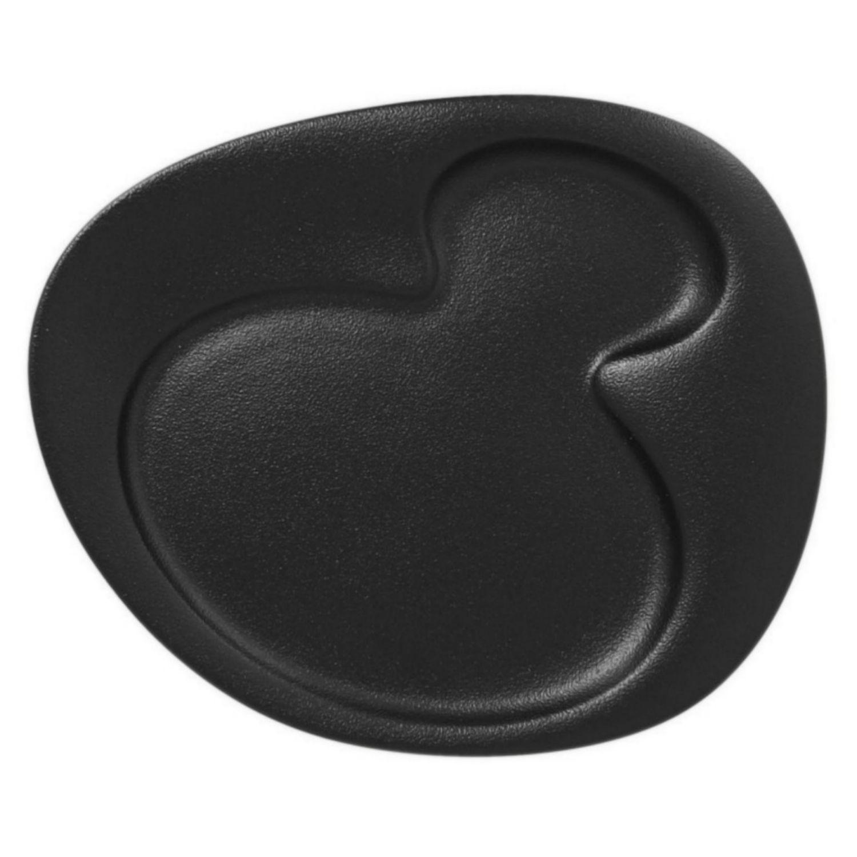 Talíř dezertní 24cm – černá
