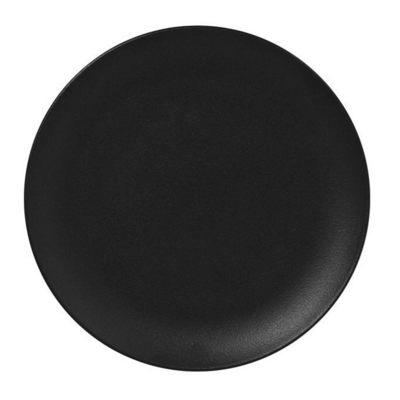 Talíř mělký 18cm - černá