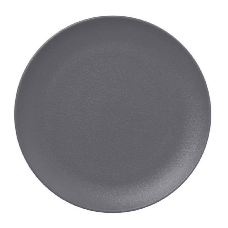 Talíř mělký 24cm - šedá