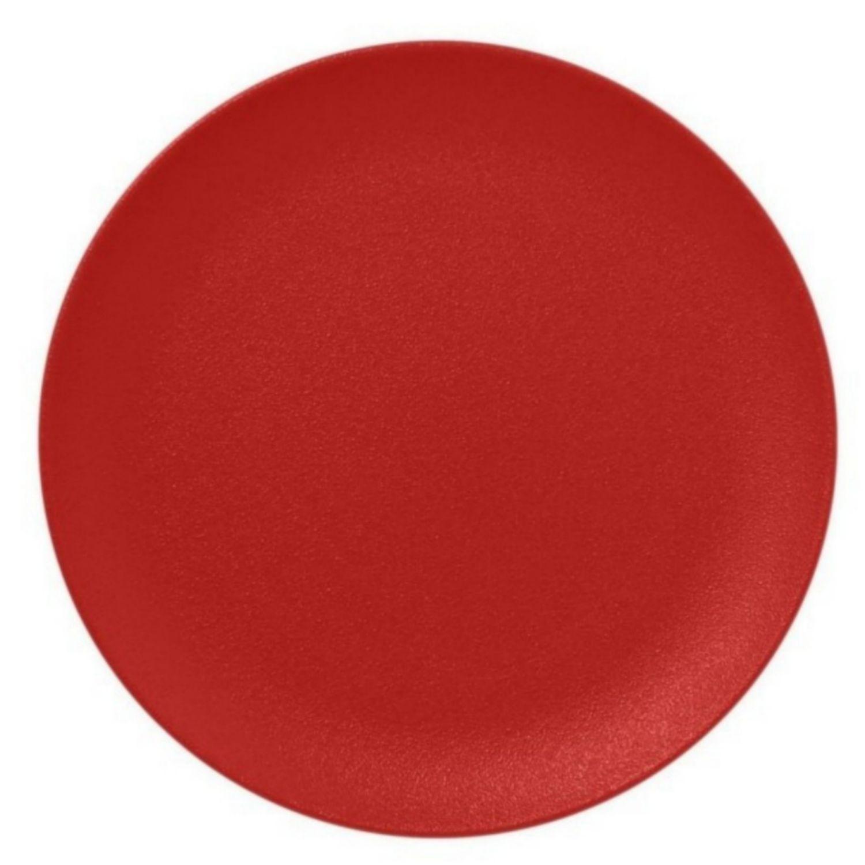 Talíř mělký 27cm - světle červená