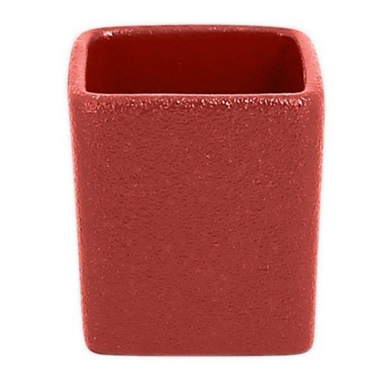 Neofusion miska vysoká tvar kostky 9 cl - tmavě červená