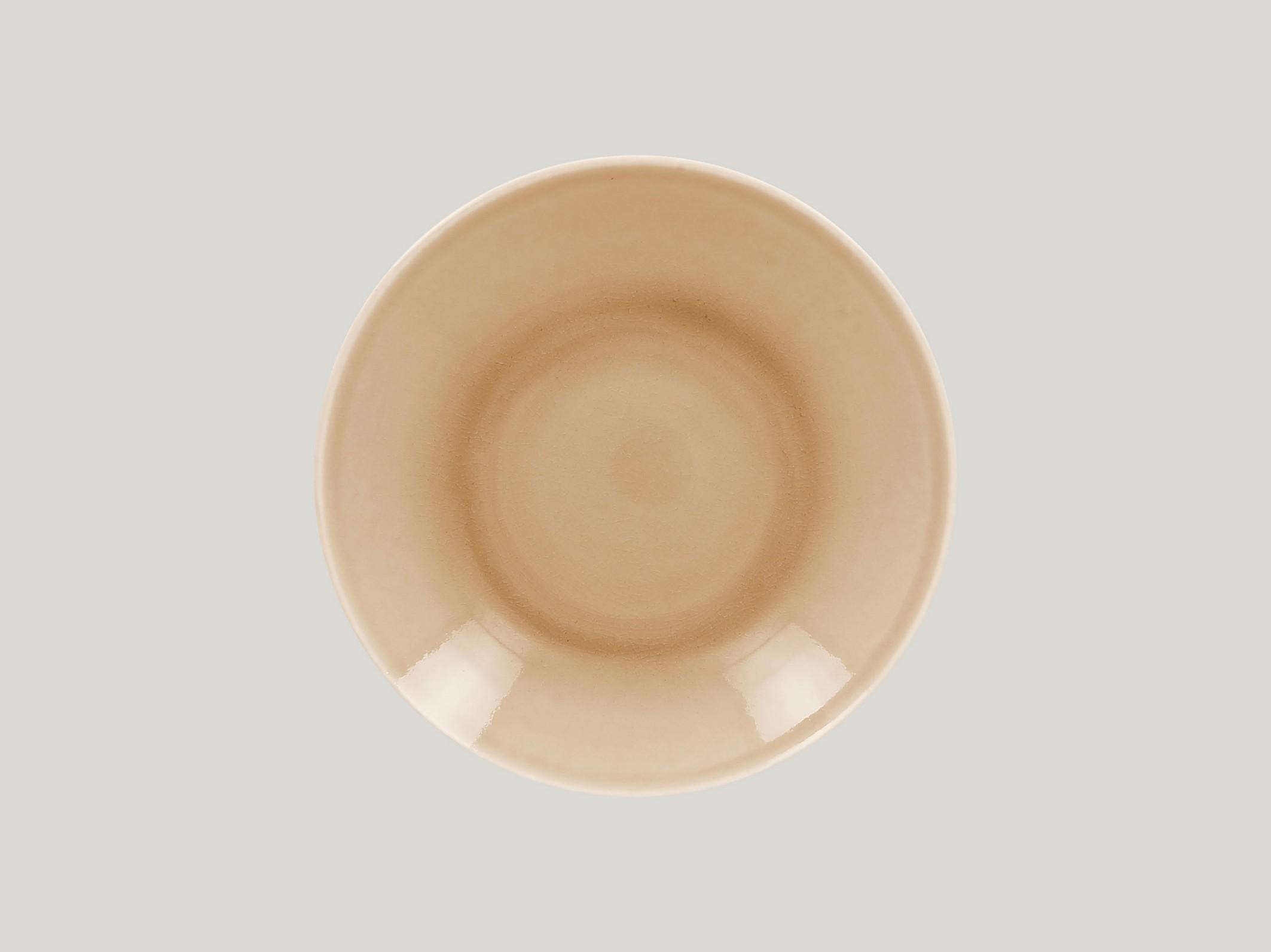 hluboký coupe talíř - beige Vintage