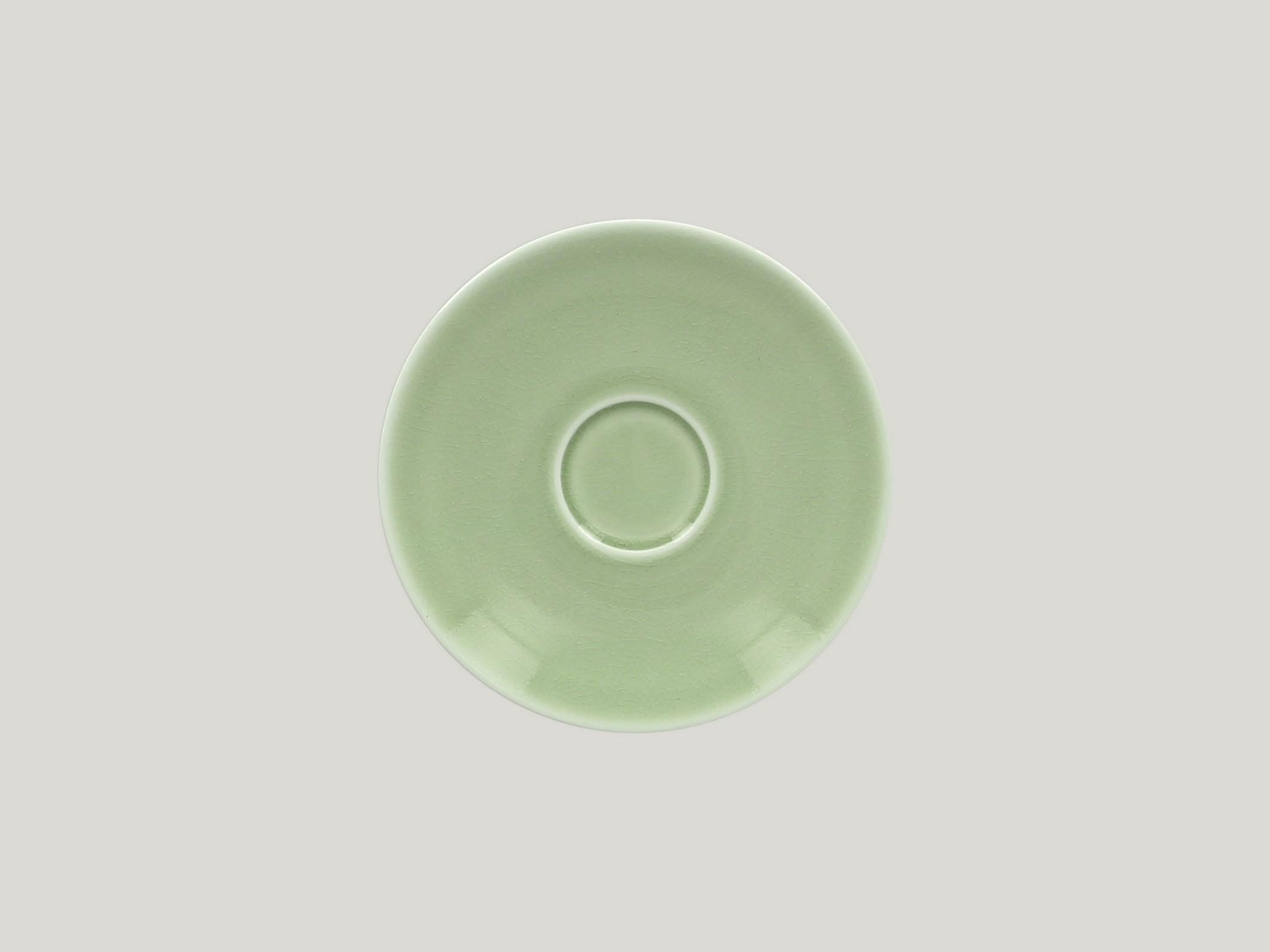 Vintage podšálek pro šálek na kávu CLCU23/CLCU20 15 cm - zelená