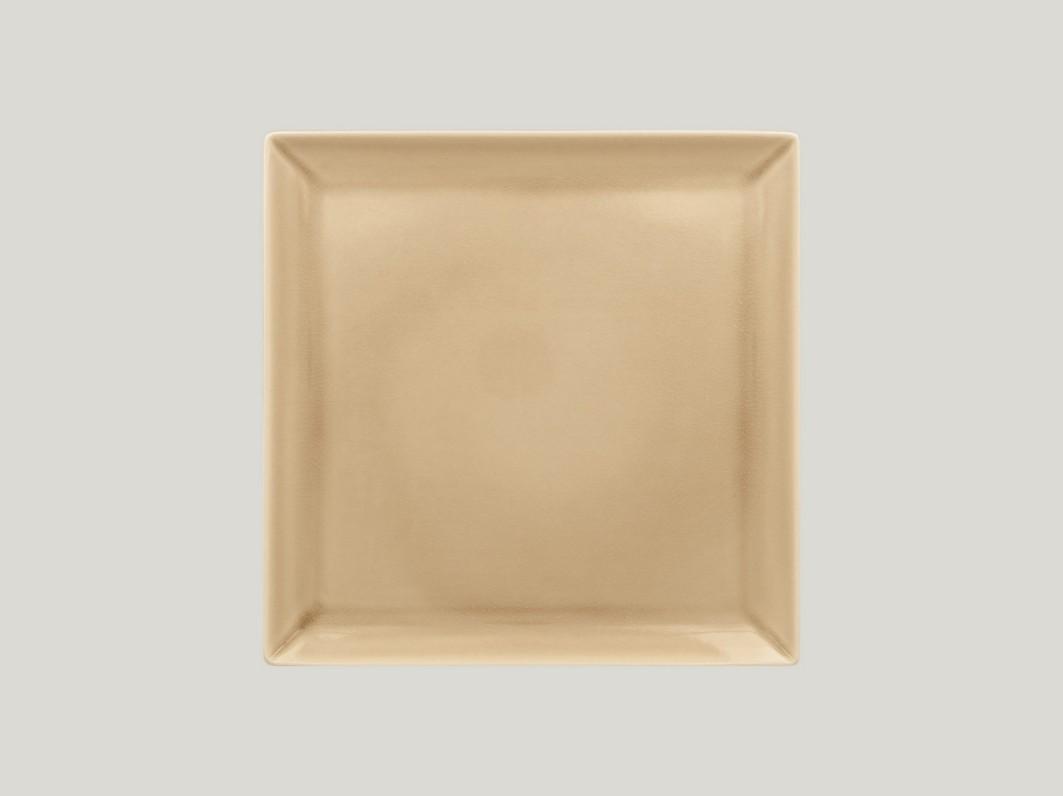 Čtvercový talíř - beige Vintage