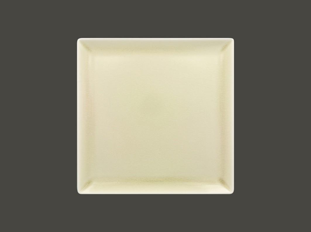 Čtvercový talíř - pearly Vintage